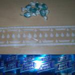 Blue Mint Candies